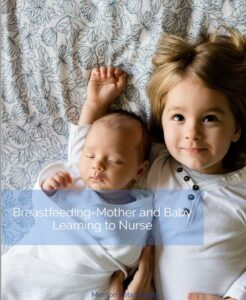 breastfeeding mother and baby learning to nurse PDF