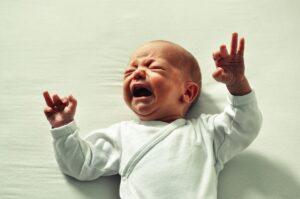 postnatal depression crying baby