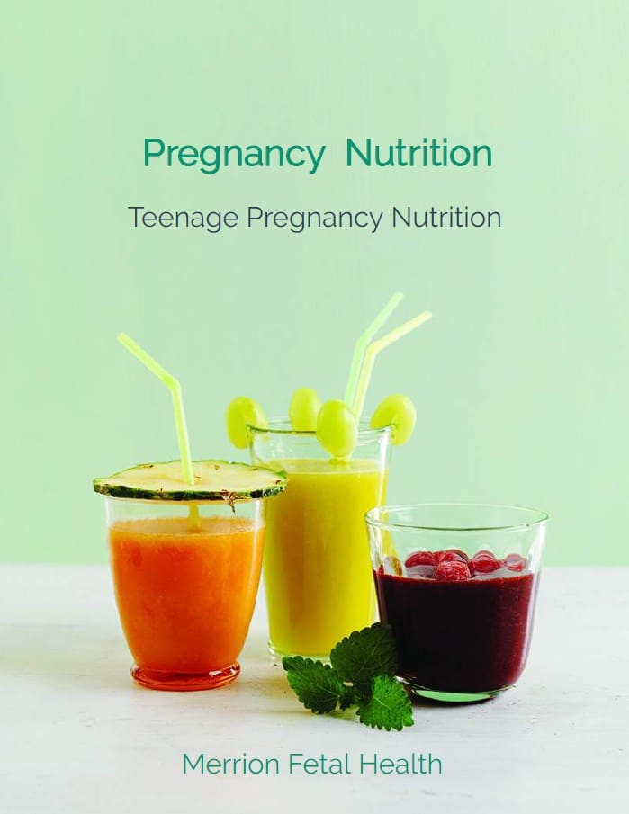 teenage pregnancy nutrition